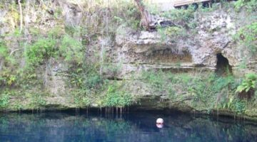 Explore A Florida Sinkhole: Blue Grotto Springs In Williston, FL