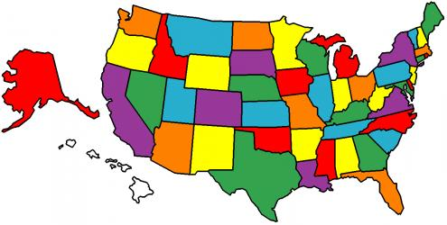 Which States Have You Been To? Get A Personalized Map Of The States on