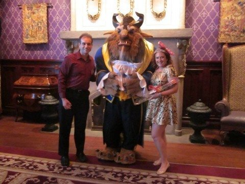 Here we are at the be our guest restaurant