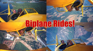 What It's Like To Take An Open-Pit Ride In A Bi-Plane