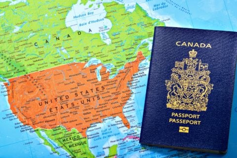 Here's how to apply for a Canadian passport for a child while living in the United States.