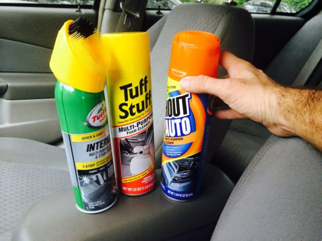 My Review Of Car Upholstery Cleaners See Which Fabric Car Seat