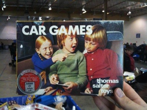 classic games to play in the car