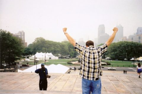 It feels great to climb the Rocky Steps in Philadelphia