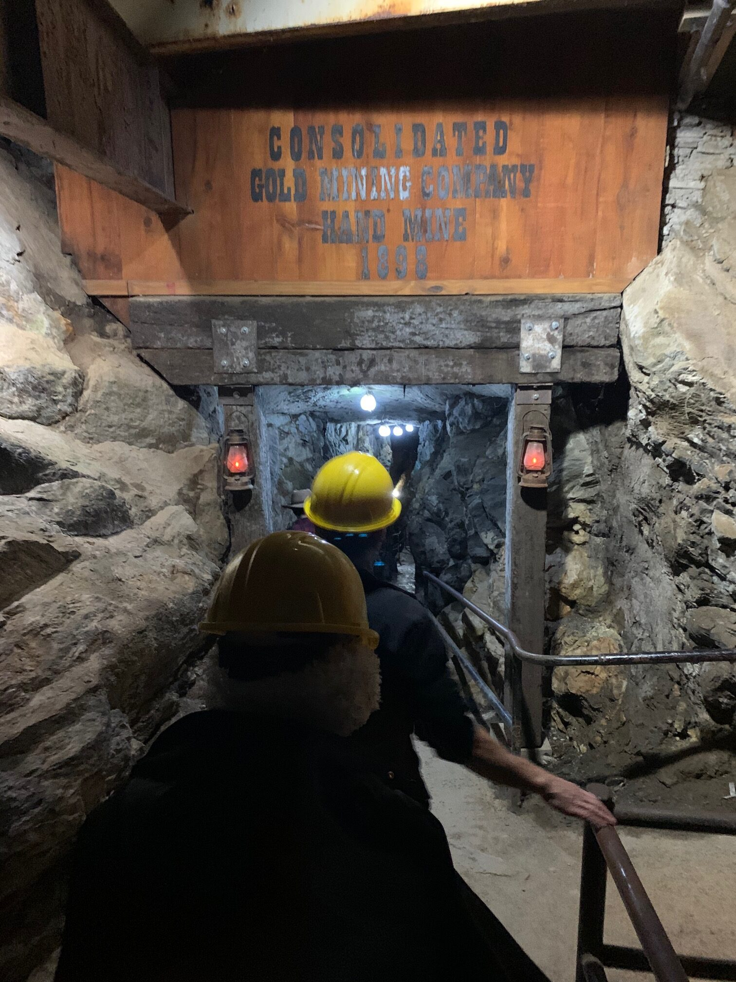 Consolidated Gold Mine Tour Dahlonega