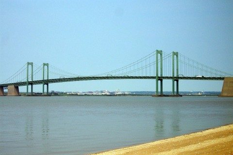 Make sure the Delaware Memorial Bridge is on your list of must-see famous bridges