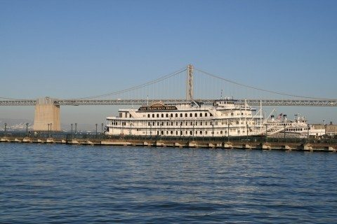 docked riverboat - river cruises