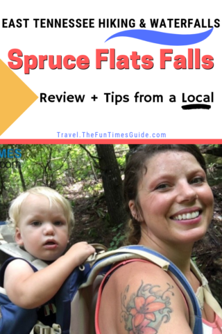 Tips from a local for visiting Spruce Flats Falls.
