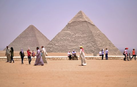 The Egyptian Pyramids are one of the 7 Wonders of the World
