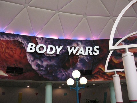 body wars - one of the old epcot rides that is now closed