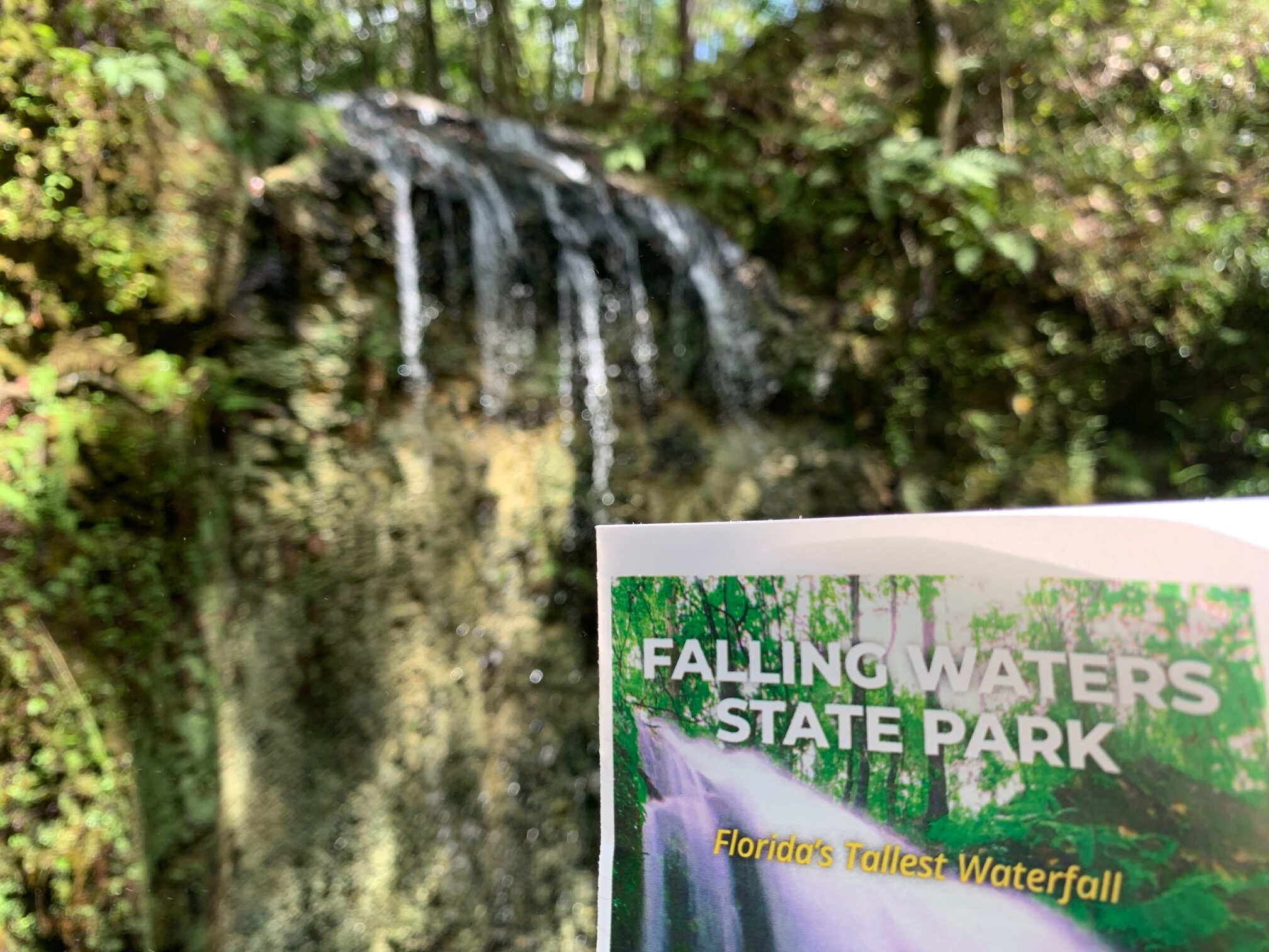 Falling Waters Waterfall In Florida