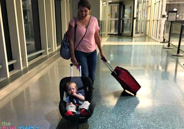 A Mom's Tips For Flying Solo With A Toddler On Your Lap Or In A Car Seat For The First Time
