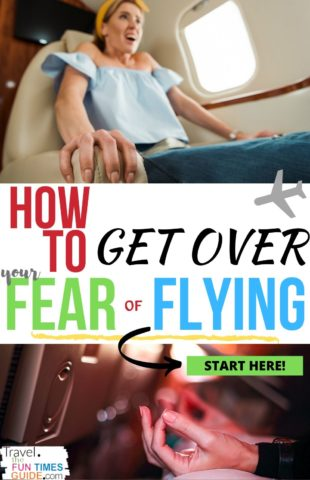 How to get over your fear of flying quickly!