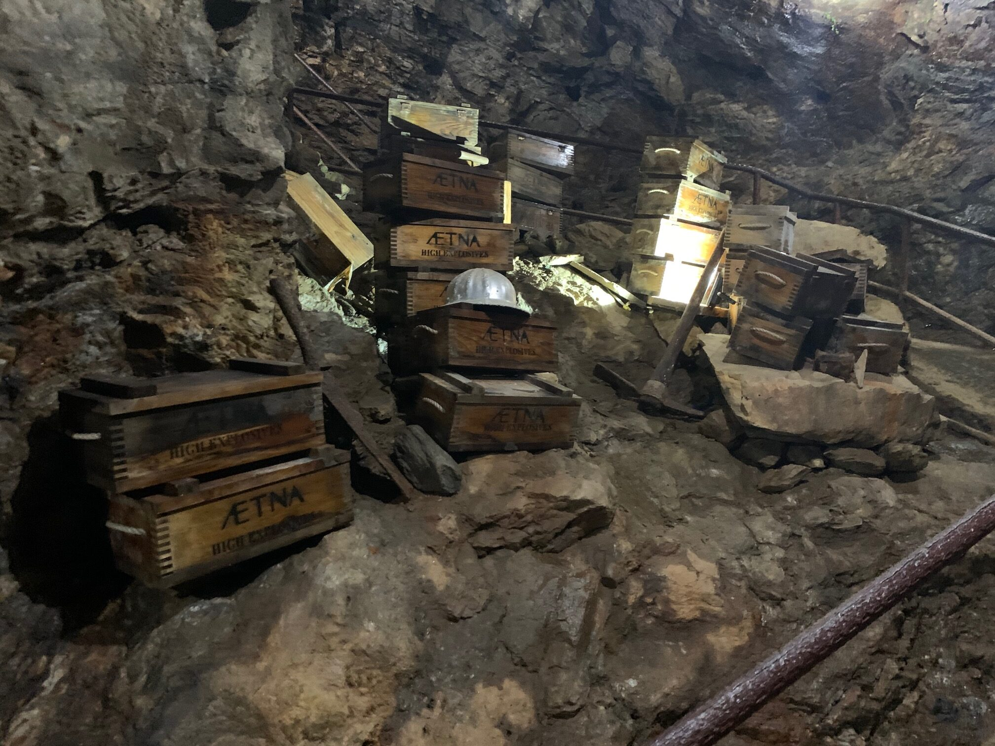 Gold Mine Explosives
