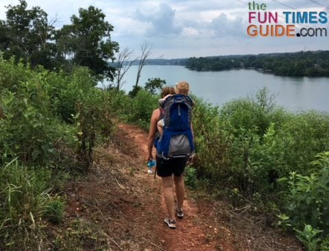 My toddler and I have taken up hiking as a way to enjoy the beautiful outdoors, explore new places together, and get some exercise.