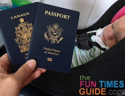 My baby has 2 passports - a US passport and a Canadian passport. He has dual citizenship now.