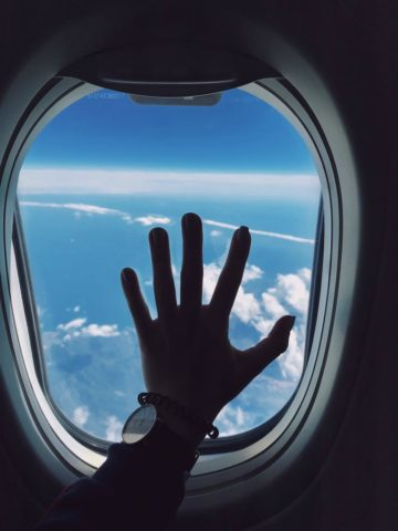 If you have a fear of flying like I did, I've got some tips to help you survive your first plane ride.
