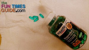 ibuprofen liquid gels are great on a motorcycle road trip because they are fast-acting and easy to pack