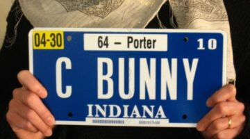 Indiana License Plates: What The Numbers Mean