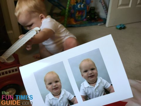 Baby passport photos