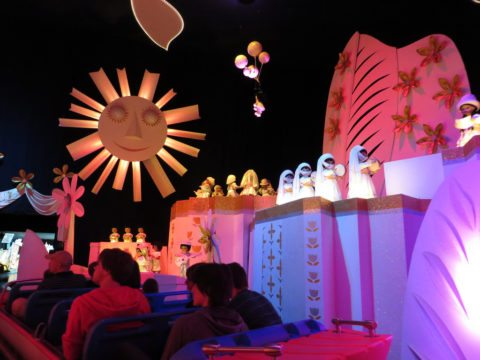 It's A Small World is among the most famous amusement park rides in the world