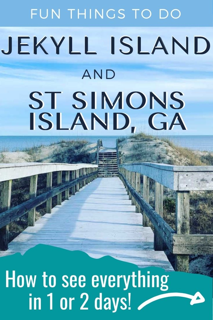 Fun Things To Do In Jekyll Island And St. Simons Island The Next Time You Visit The Georgia Shore