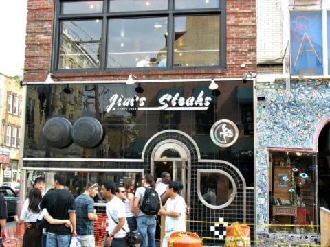 Who has the best cheesesteak in Philly? Why Jim's Steaks of course! See why...