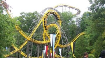 loch ness monster roller coaster