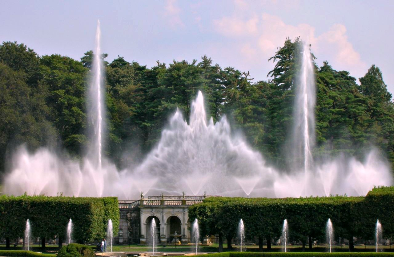 Fountain show at Longwood Gardens.