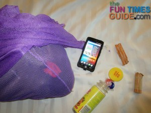 See why I pack a mesh laundry bag like this one on motorcycle trips