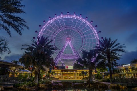 Orlando Eye is one of the newest things to do in central florida