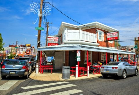 Pat's King of Steaks is a runner-up in my search for the best cheesesteak in Philly.