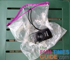 Plastic zip bags are easy to pack and serve many purposes so bring lots of them on your motorcycle trip