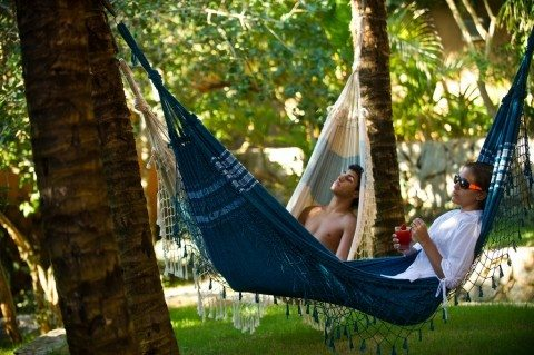 secluded resorts provide lots of down time