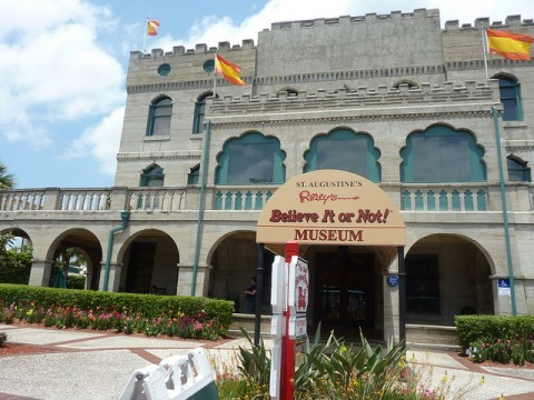 Ripley's Believe it Or Not is one of the most popular st augustine destinations among tourists
