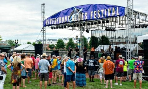 Riverfront Blues Festival at Tubman-Garrett Riverfront Park