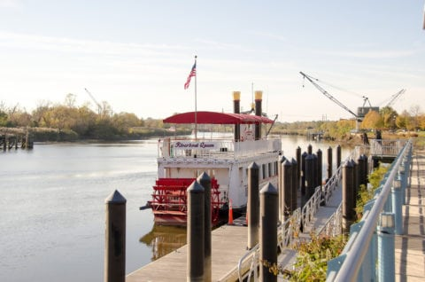 River Taxi and Cruise Boats are a fun way to spend time on the water at Riverfront Wilmington, DE