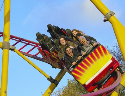 roller coasters can't normally operate in cold weather