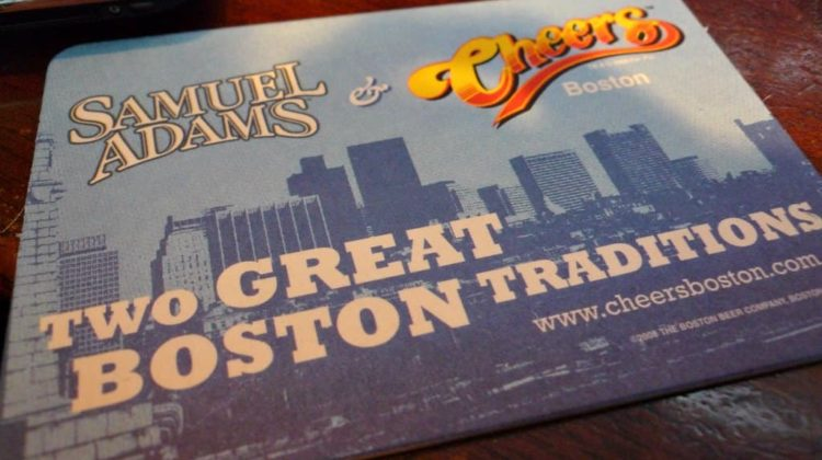 Samuel Adams and Cheers Boston... two great Boston traditions!