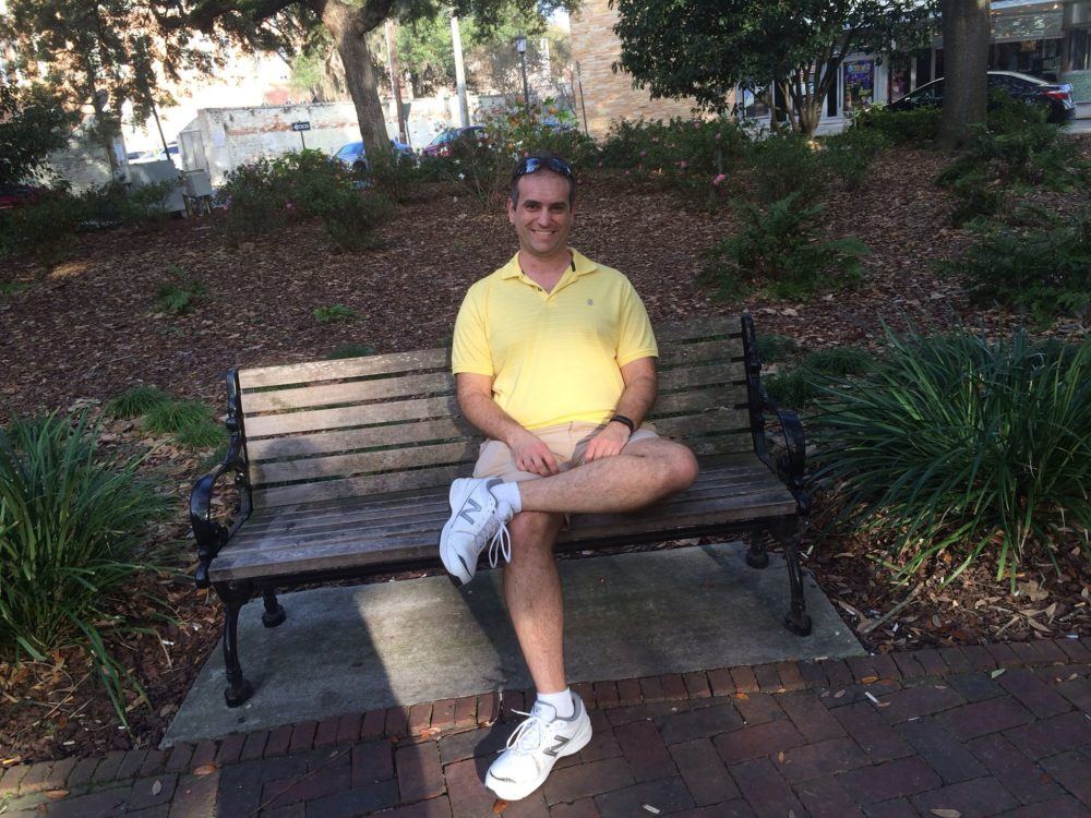 The Forrest Gump Bench Girl Scouts Historic Site And The Beach