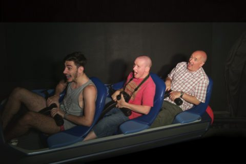 Space Mountain is one of the scariest rides ever at Disney