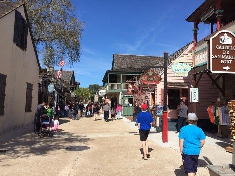 downtown st augustine is bubbling with things to do