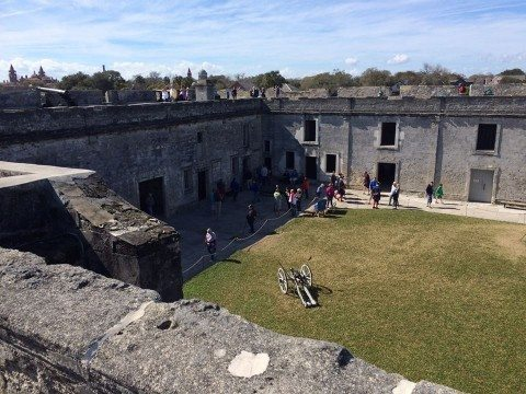 Fort Castillo is one of my favorite st augustine attractions