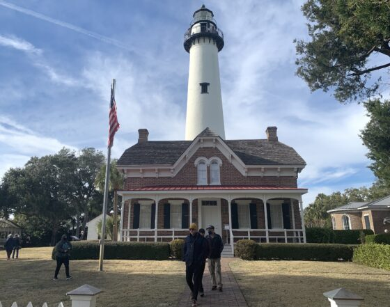 The St. Simons Island lighthouse is  one of many cool attractions you'll find on Saint Simons Island and nearby Jekyll Island on the Georgia Shore.