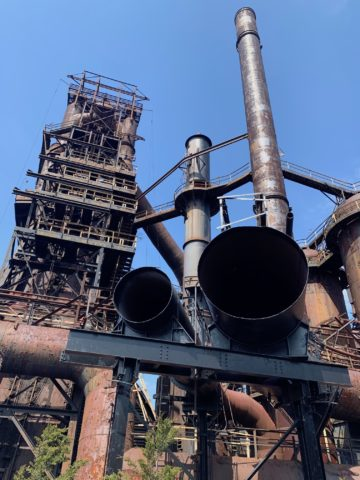 Pipes and Steel Stacks Bethlehem PA - SteelStacks