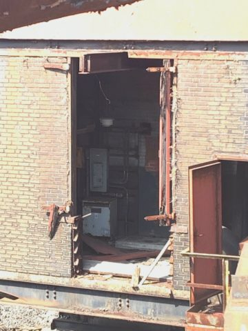 An old room at the Bethlehem Steel factory.
