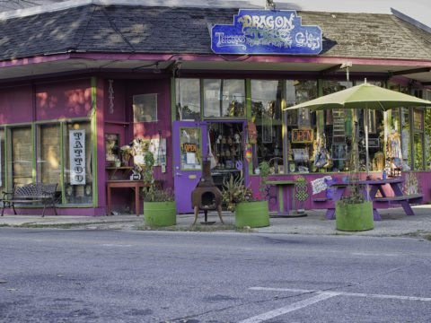 an example of the many eclectic stores in yellow springs ohio