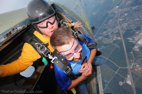tandem skydiving tips