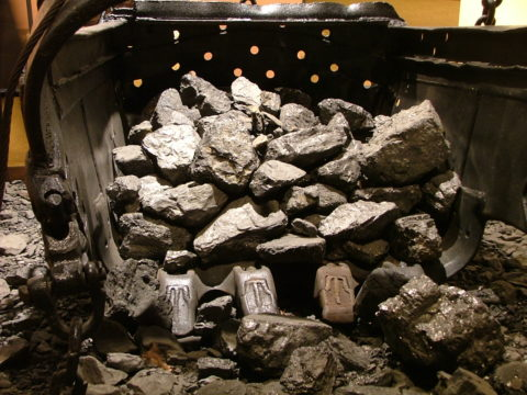 Coal in the Anthracite Heritage Museum - Scranton, PA.