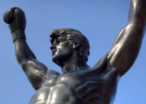 Have you seen the statue of Rocky yet - the Rocky statue in Philadelphia